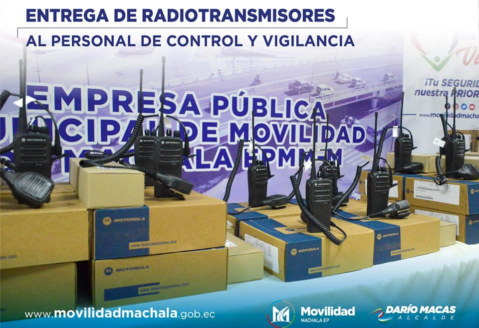 Entrega de Radiotransmisores